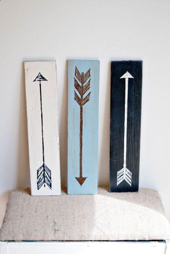 Home Guide Arrow Entryway Decor Concept