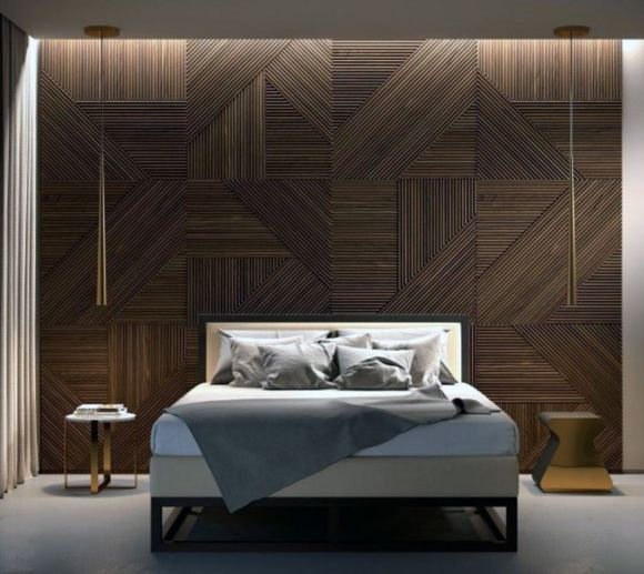 Textured-Wall-in-Modern-Bedroom