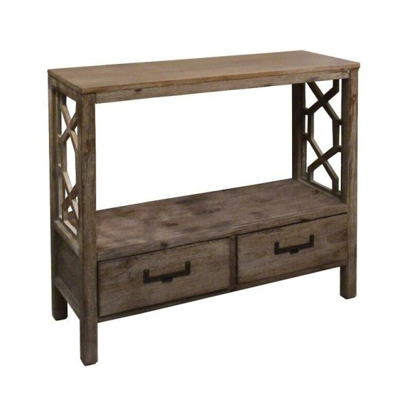The Stately Cabinet Entryway Table