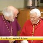 El arzobispo de Canterbury y el Papa