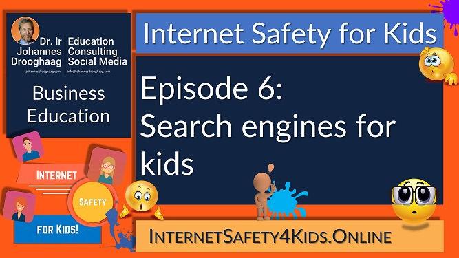 Internet Safety for Kids - Episode 6 - Search engines for kids