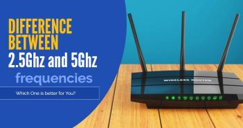 2.5ghz and 5ghz frequencies