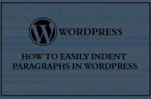How to Easily Indent Paragraphs in WordPress