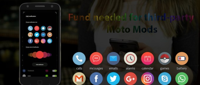 Fund needed for third-party Moto Mods