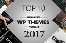 Top 10 Premium WP Themes March 2017