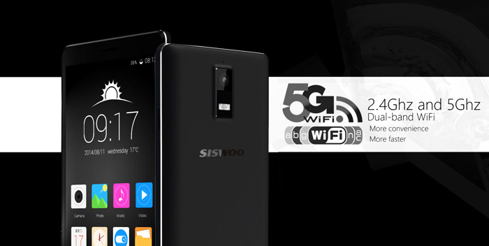 SISWOO R8 4G LTE Smartphone