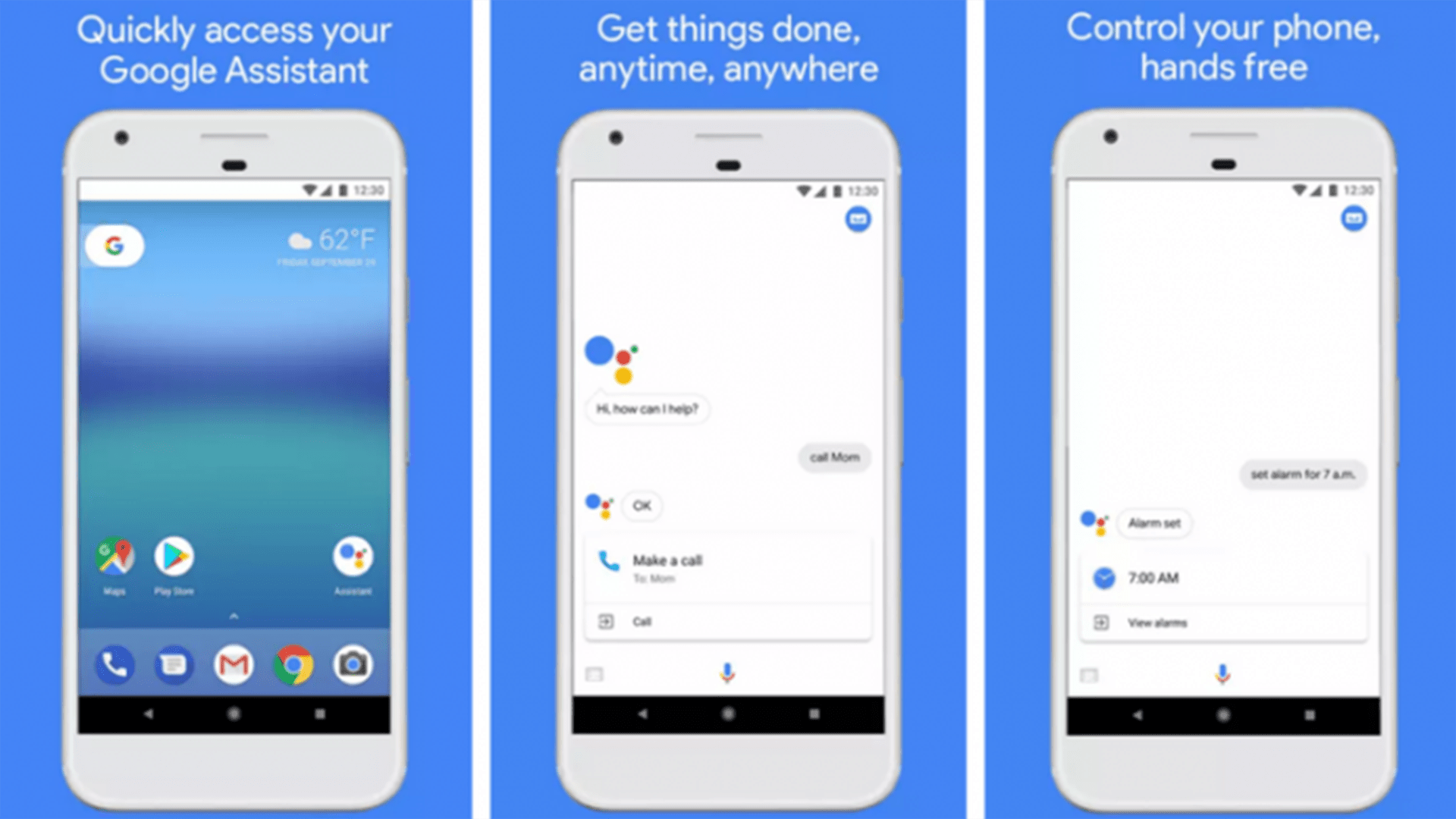 Google Assistant Screen Shots