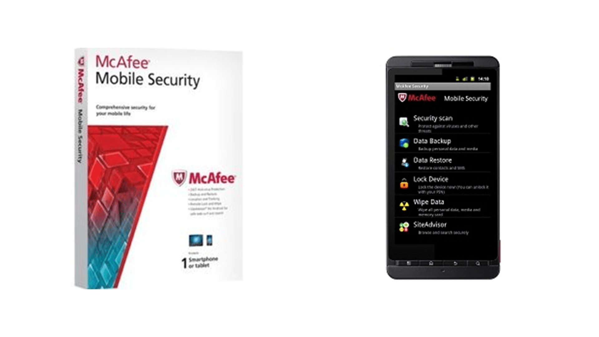 McAfee Mobile Security & Lock android app