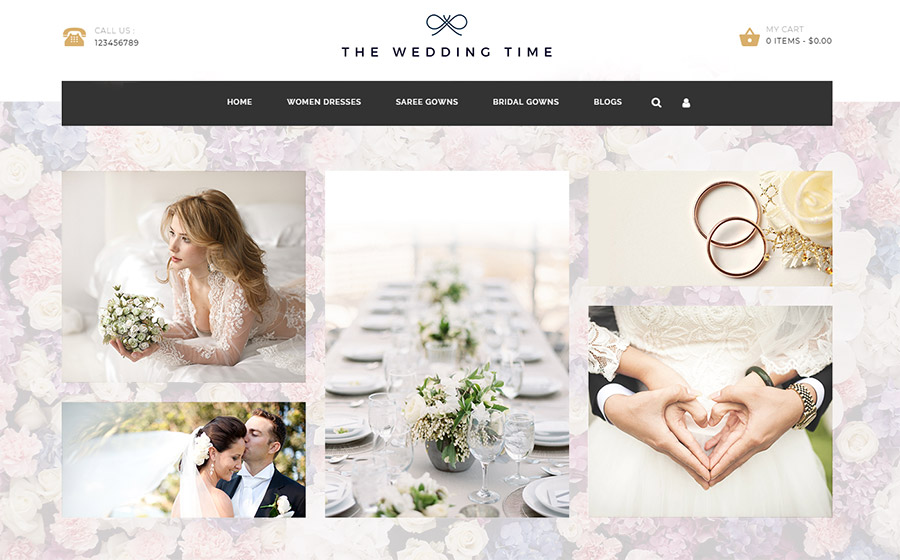 The Wedding Time - Responsive OpenCart Template