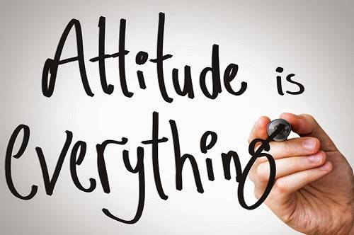 ATTITUDE AND SELF CONFIDANCE FOR ACEPTING THE LOSS AND OWN MISTAKE