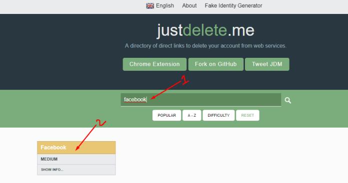 online profiles delete kaise kare?