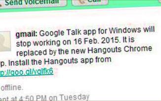 Google talk बंध होने का क्या कारन था?