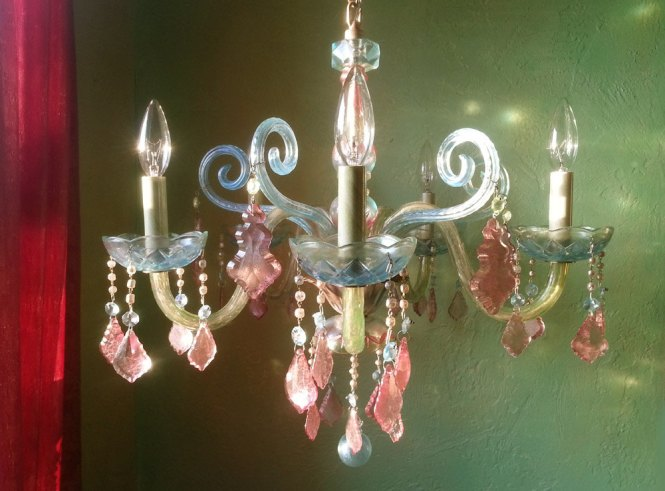 Colorful Bohemian Chandeliers