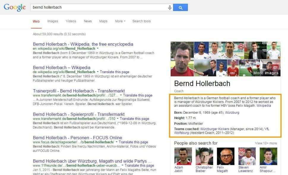 Bernd Hollerbach Google Suche