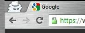 Chrome anonymes surfen