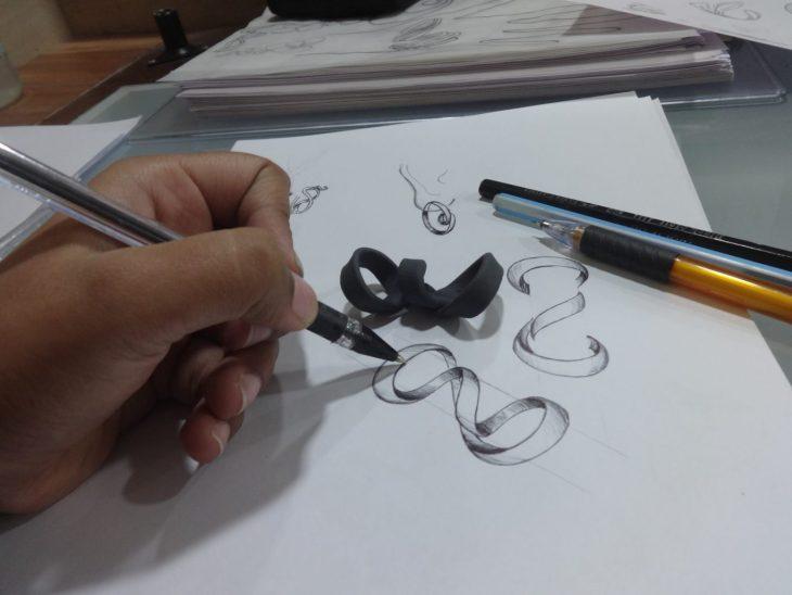 Designing at Farah Khan Fine Jewellery