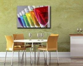 Stampa su tela - cocktail di colori