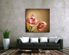 Stampa su tela - profumo di rose fresche