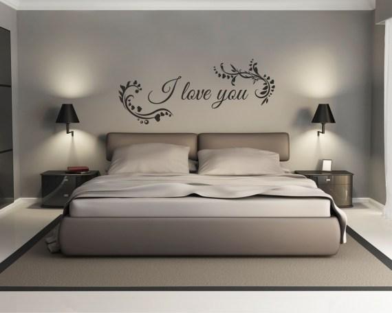 adesivo murale-I love tou