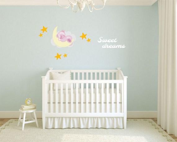 adesivo murale-orsetto dolci sogni