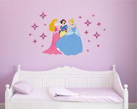 Adesivo murale-principesse delle favole