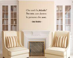 adesivo murale-Amy Bratley-Che cos'è la felicità?