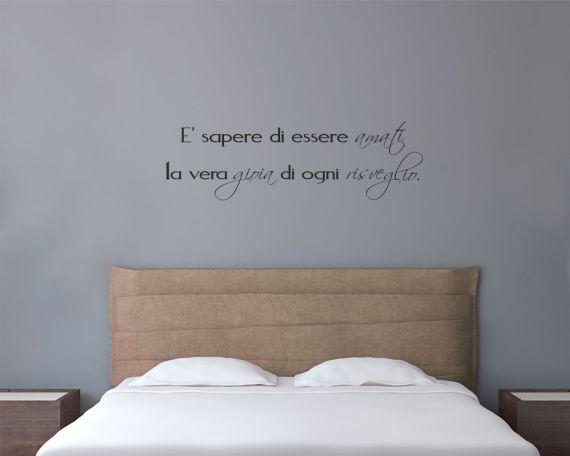 adesivo murale-la gioia di ogni risveglio