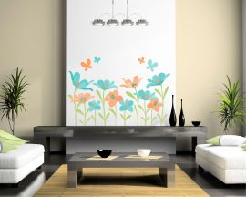 adesivo murale-colori di primavera