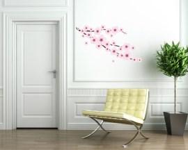 adesivo murale-fiori di pesco