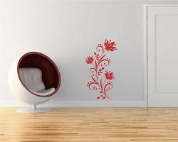 adesivo murale-decoro floreale