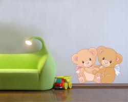 adesivo murale-dolcissimi orsetti