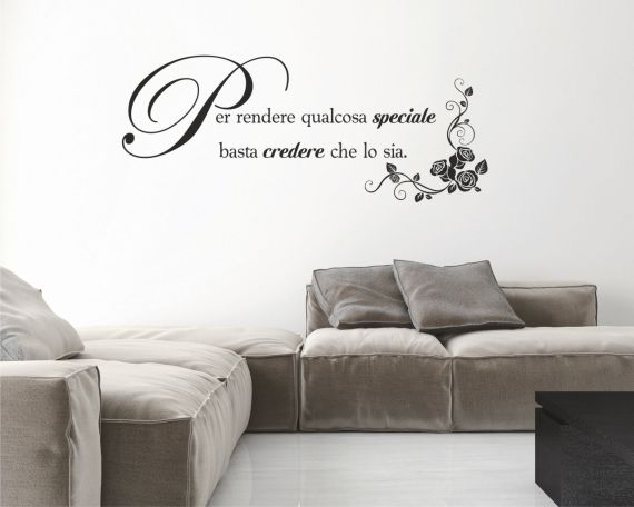 Adesivo murale-per rendere qulcosa speciale