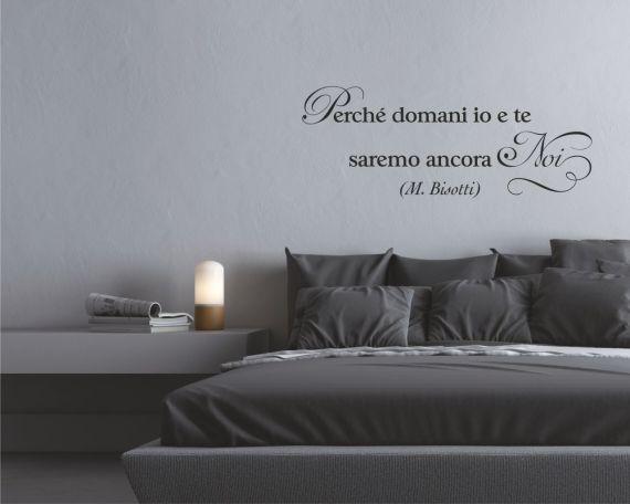 Adesivo murale-Massimo Bisotti-perché domani io e te...
