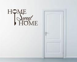 Adesivo murale-home sweet home