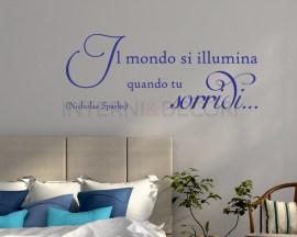 Adesivo murale-Nicholas Sparks-Quando tu sorridi