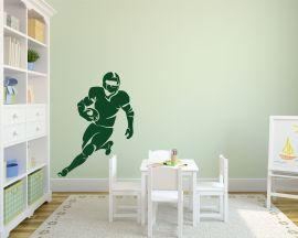 Adesivo murale-campione di football americano