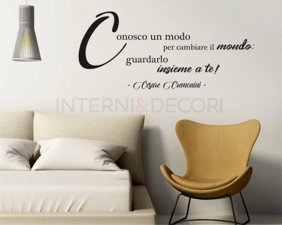 Ecco l'amore che cos'è-Cesare Cremonini-Adesivo murale