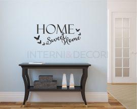 Adesivo murale-home sweet home-adesivo da parete casa