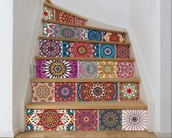 Decorazione per scale-colorful stairs-Adesivo per scale