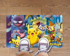 Adesivo per pavimenti-tappeto adesivo Pokémon-adesivo per pavimenti