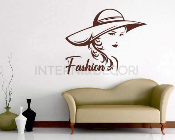 Adesivo murale-fashion style