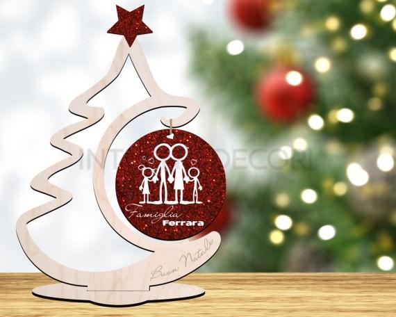 Decorazione taglio laser-christmas tree