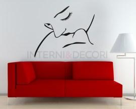 Adesivo murale-baciami ancora-adesivo da parete coppia bacio