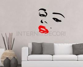 Adesivo Marilyn Monroe-bellezza senza tempo-adesivo murale