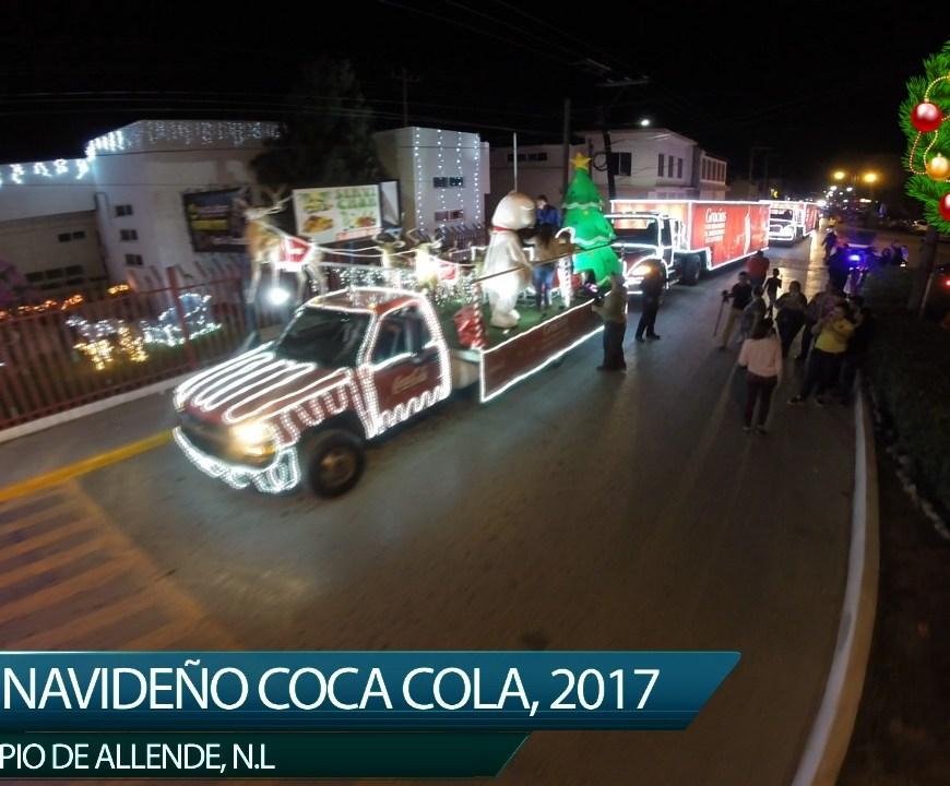 DESFILE NAVIDEÑO COCA COLA 2017