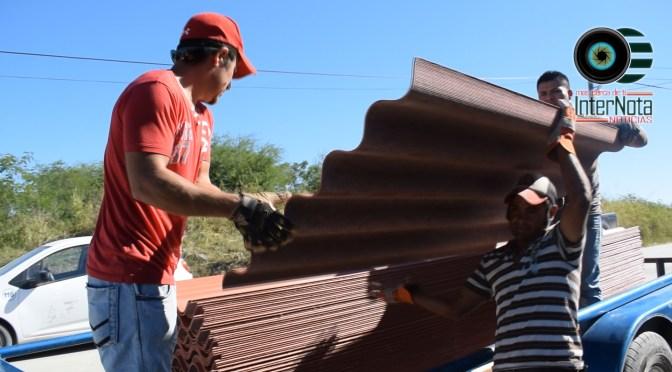 CONTINÚAN CON #APOYOS A HABITANTES DEL MUNICIPIO