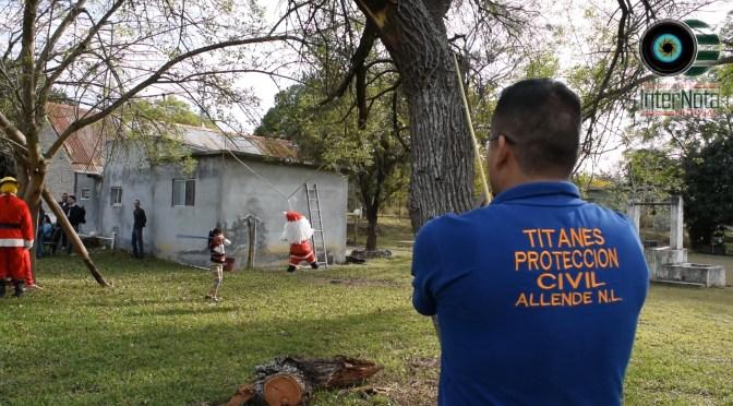 REALIZAN POSADA NO. 44 EN LA COMUNIDAD DEL VENADO EN COLABORACIÓN CON PROTECCIÓN CIVIL, EN ALLENDE N.L.
