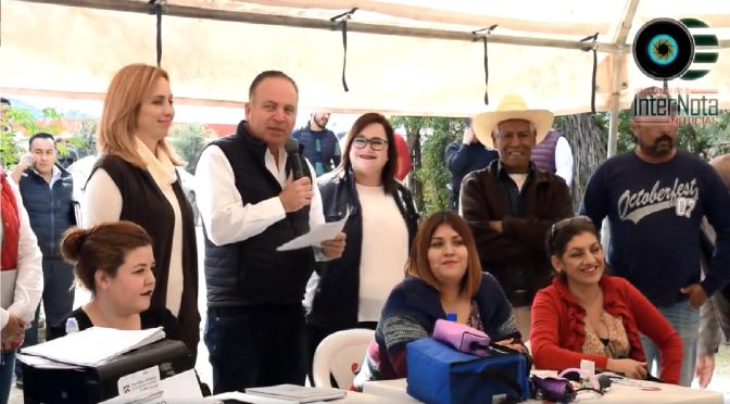 LLEVAN A CABO MIÉRCOLES CONTIGO EN EJIDO TIERRAS COLORADAS.