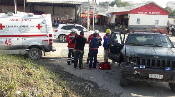 #ENVIVO #INTERNOTA SE REGISTRA ACCIDENTE TRIPLE EN LIBRAMIENTO, ALLENDE NUEVO LEÓN.