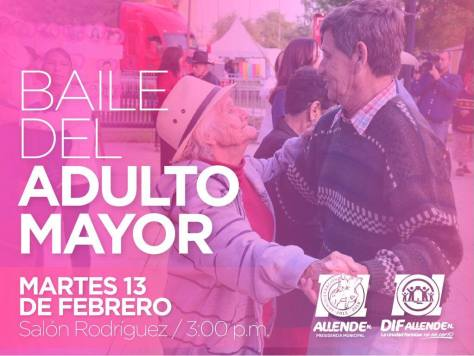 BAILE DEL ADULTO MAYOR EN ALLENDE N.L.